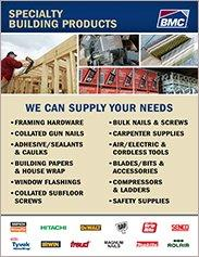 BMC Specialty Building Products Sell Sheet