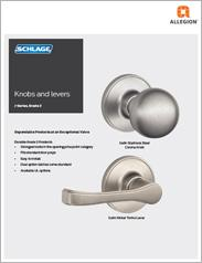 Schlage® J-Series Knobs & Levers