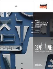 Simpson Strong-Tie® Wood Construction Connectors
