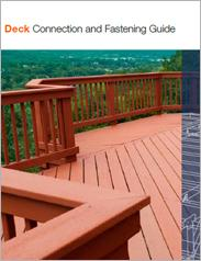 Simpson Strong-Tie® Deck Connection Fastening Guide