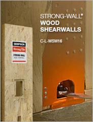 Simpson Strong-Tie® Strong-Wall® Wood Shearwalls