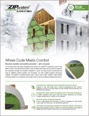 Zip System® R-Sheathing
