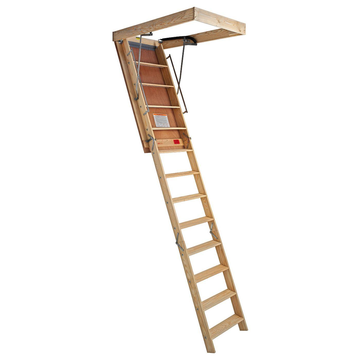 superior plus folding firerated attic stairway