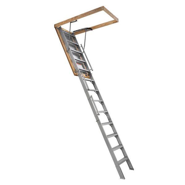 Titan Aluminum Fire Rated Attic Stairs