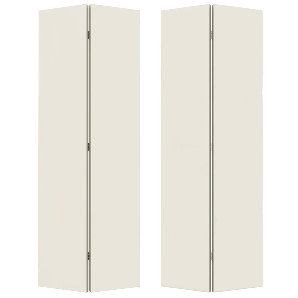 JELD-WEN 4-Door Bifold Flush Hardboard Doors  sc 1 st  Build With BMC & Bifold Doors | Build With BMC