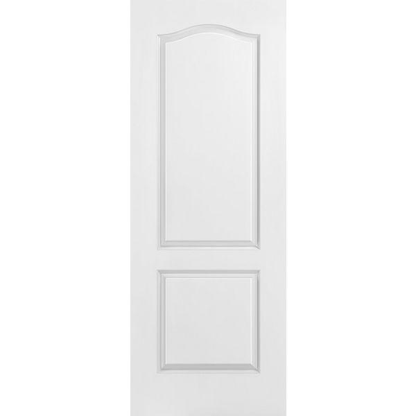 Masonite® Classics™ Fire Rated 2 Panel Arch Top Interior Door