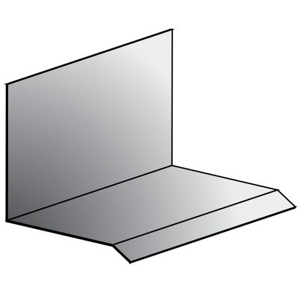 metro roof products head wall flashing - Roof To Wall Flashing