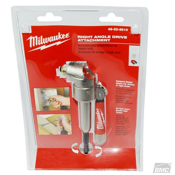 Milwaukee Right Angle Drill Attachment Kit Ml49228510 Build