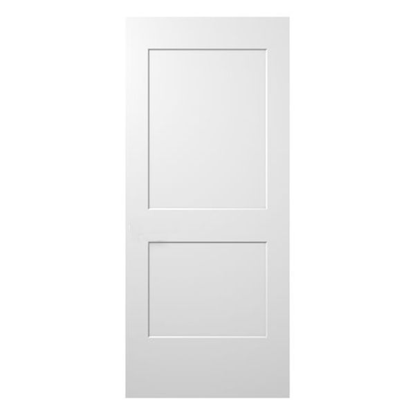 JELD-WEN Fire-Rated Monroe 2-Panel Interior Door  sc 1 st  BMC & JELD-WEN Fire-Rated Monroe 2-Panel Interior Door | MNR420M3068NB | Smoot