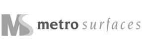 Metro Surfaces logo