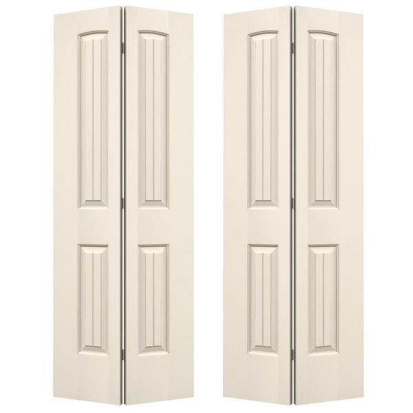 Jeld Wen Santa Fe 2 Panel 4 Door Bifold Doors Sf4068b Build With Bmc