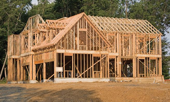 Trusses prefabricated wall panels build with bmc for How to build a timber frame house