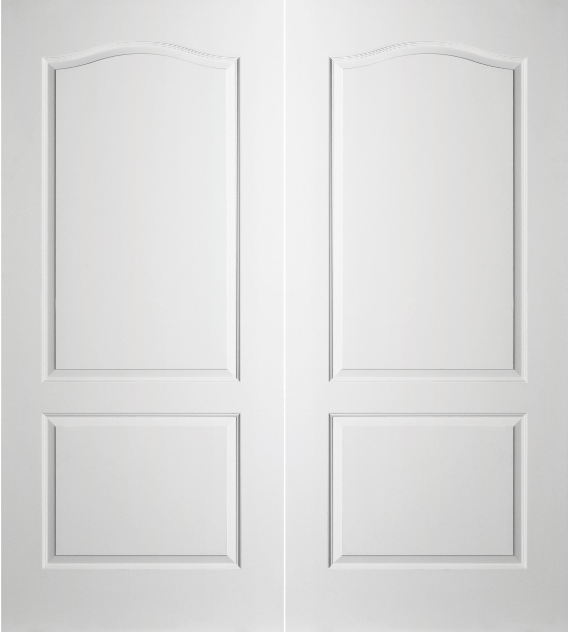 Prehung Interior Double Princeton 2-Panel Arch Top Door w/ Ball Catch  sc 1 st  BMC & Interior \u0026 Closet Doors | Build With BMC