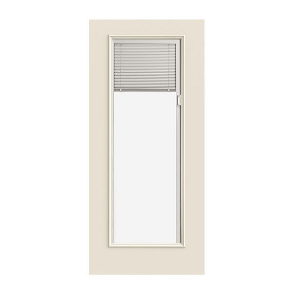 Incroyable Smooth Pro Full Lite Door W/ Blinds