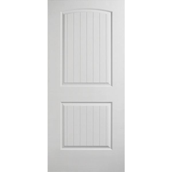 Prehung Interior Single Santa Fe 2 Panel Arch Top Door