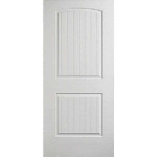 Exceptional Prehung Interior Single Santa Fe 2 Panel Arch Top Door