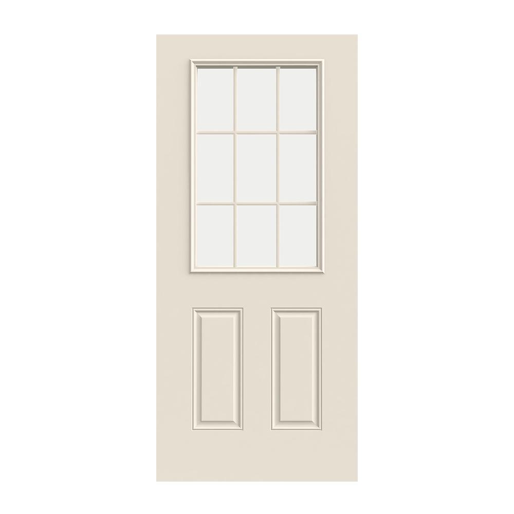 Prehung Exterior Steel 9 Lite Door