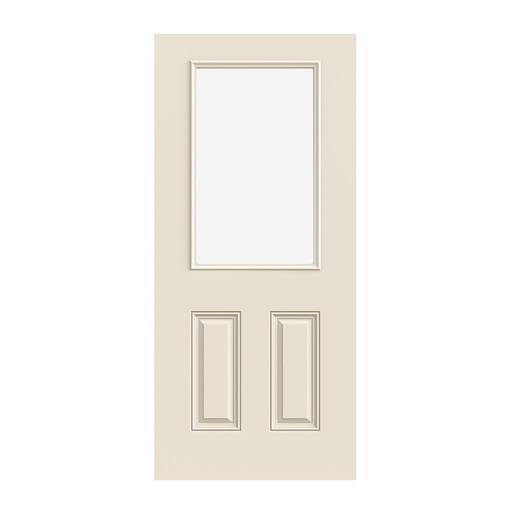 prehung exterior smoothpro 12lite door w lowe
