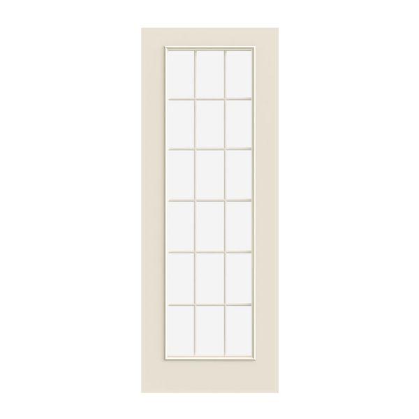 Prehung Exterior Smooth Pro 18 Lite Door W/ Low E Glass