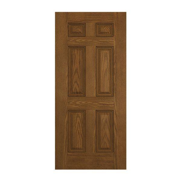 Prehung Exterior Design Pro 6 Panel Entry Door Wstared1250782