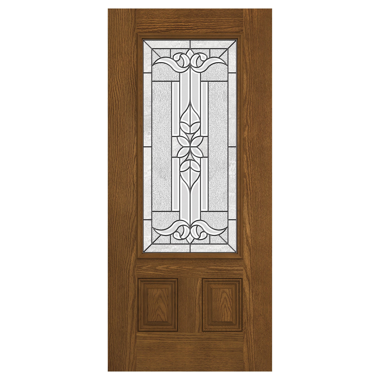 Prehung Exterior Design Pro Door W/ 3/4 Lite Cadence Glass
