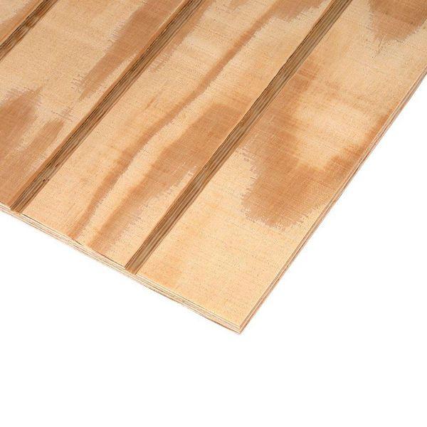 4\' x 8\' 303-6-SW Exterior Rough Sawn Pine Plywood Siding - 4\