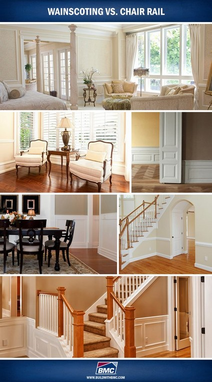 chair rail wainscoting bathroom bmc wainscoting vs chair rail build with