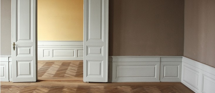 Wainscoting image : wainscoting door - pezcame.com