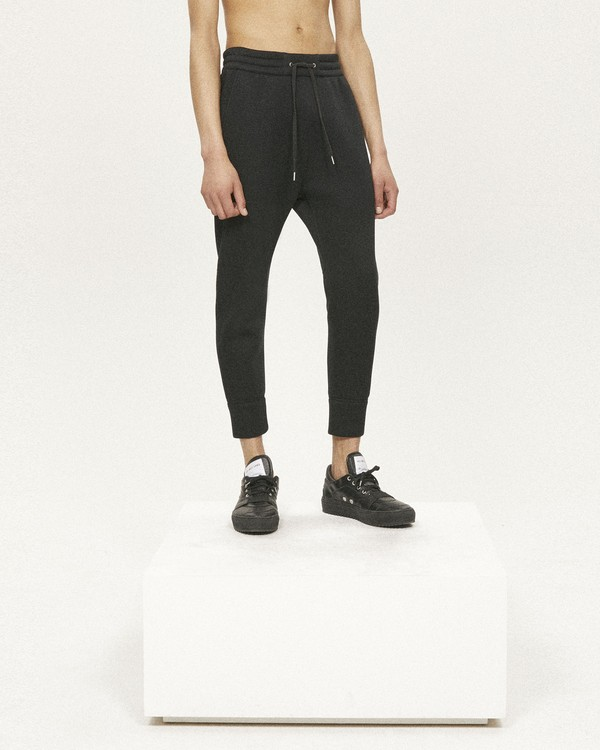 CURVED LEG JOGGERS