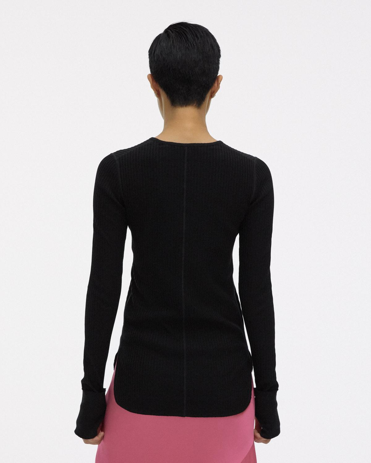 RIB LONG SLEEVE