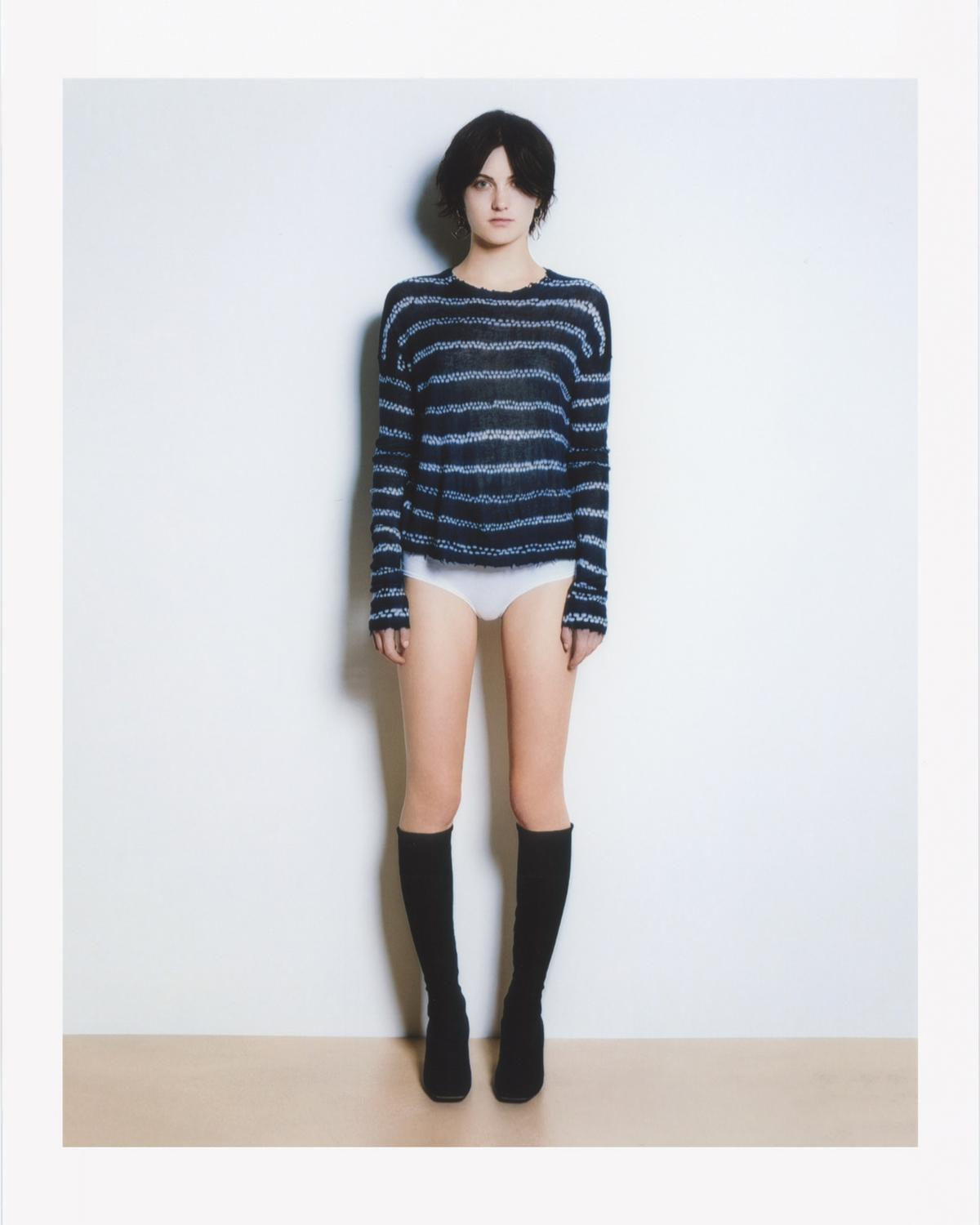 CASHMERE STRIPE KNIT