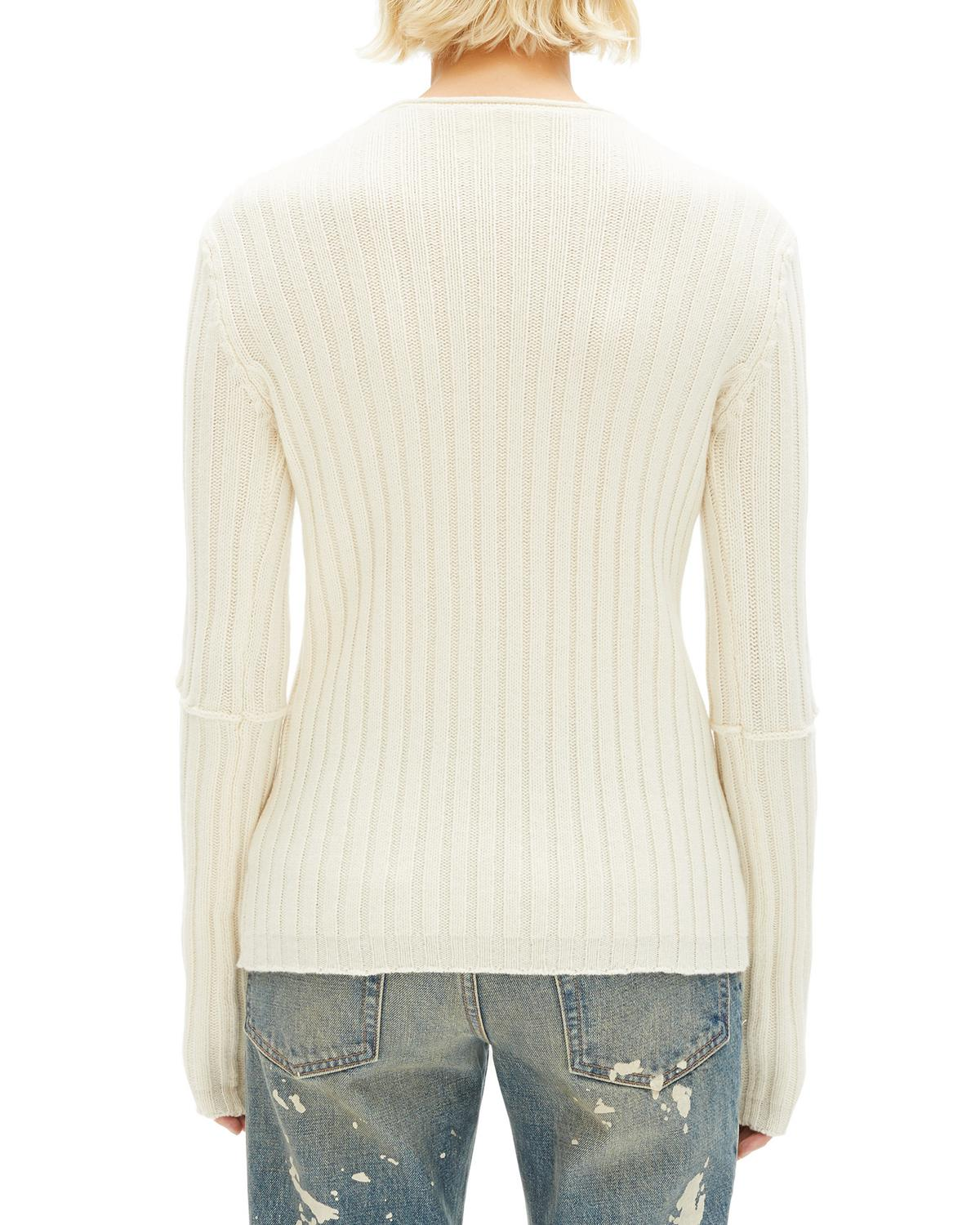 ELBOW CUT OUT SWEATER