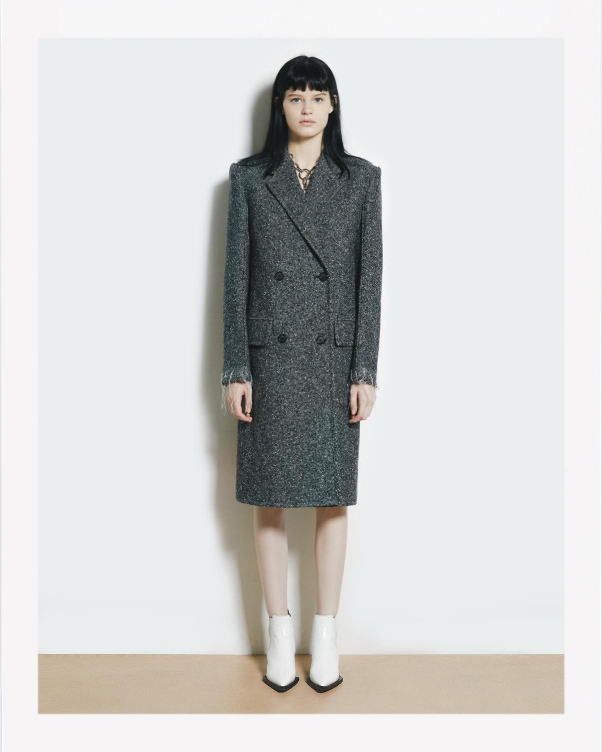 DECONSTRUCTED OVERCOAT
