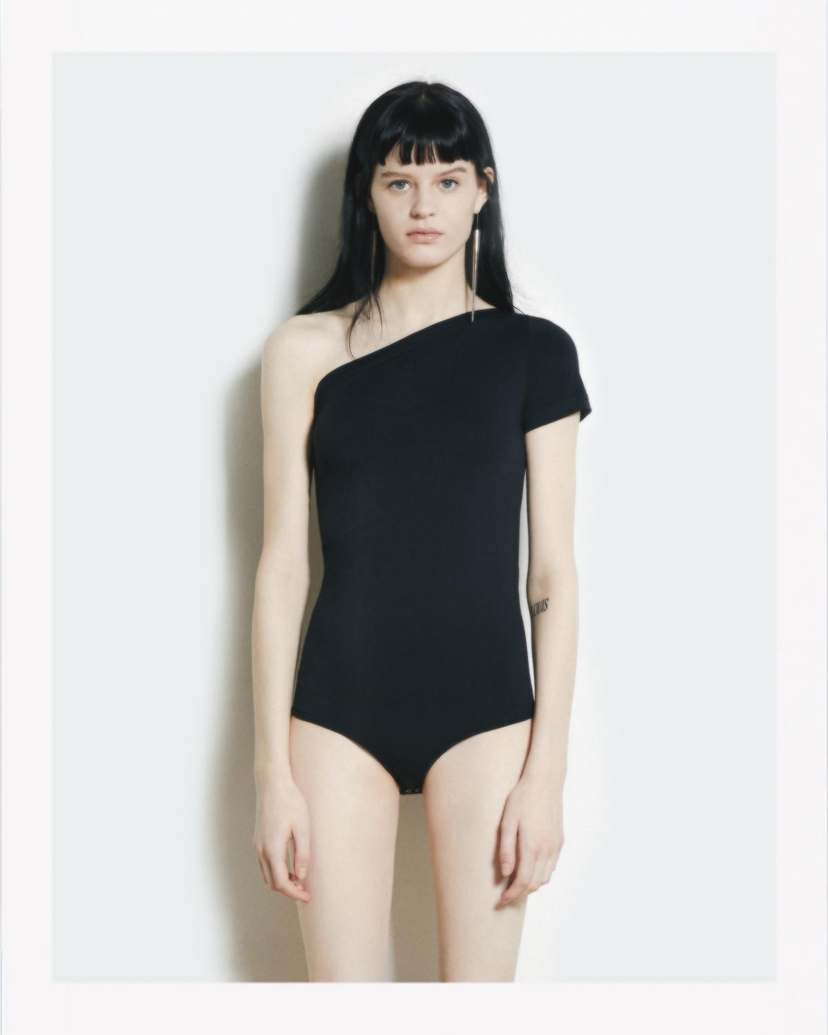 ASYMMETRIC SEAMLESS BODY SUIT