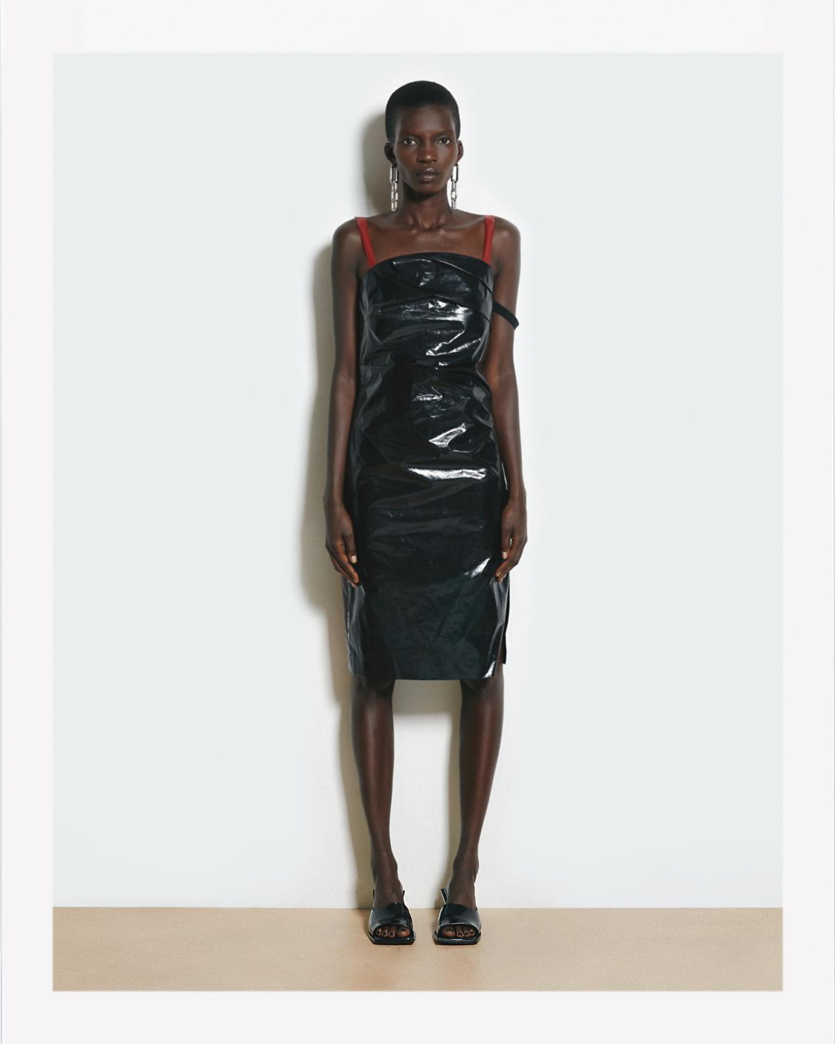 TRASH BAG DRESS