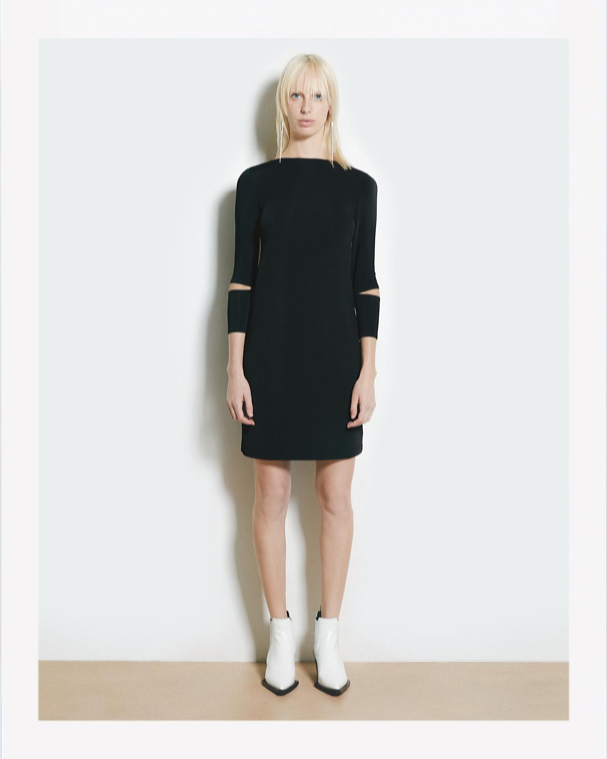 DETACHED CUFF BONDAGE DRESS