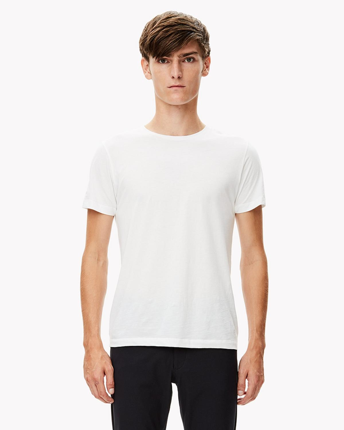 Stretch Cotton Tee
