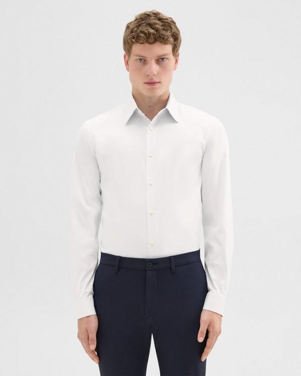 띠어리 셔츠 테일러 핏 Theory Stretch Cotton Tailored-Fit Shirt