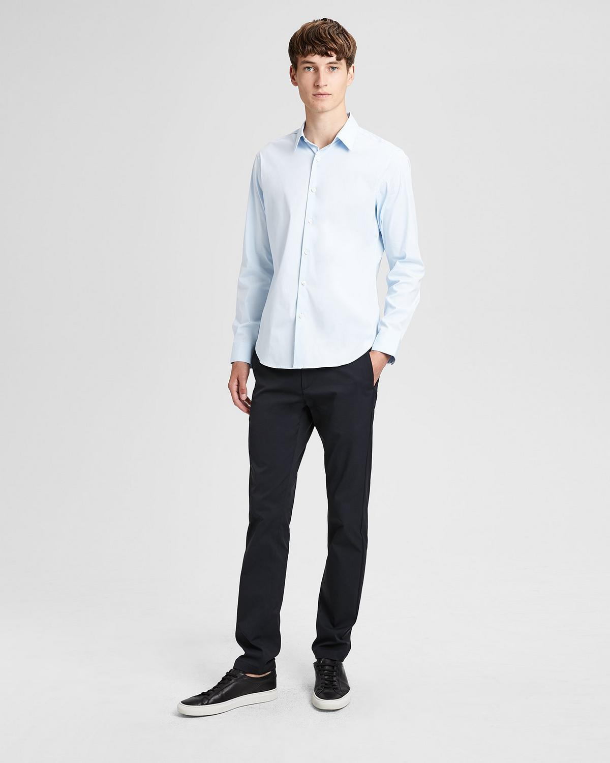 Fine Cotton Slim Shirt