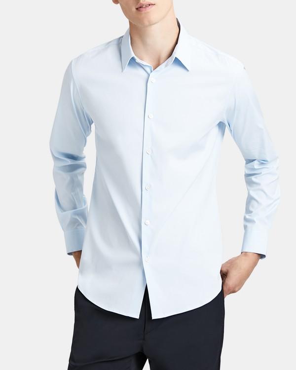 띠어리 테일러드 핏 셔츠 Theory Stretch Cotton Tailored-Fit Shirt,POLES