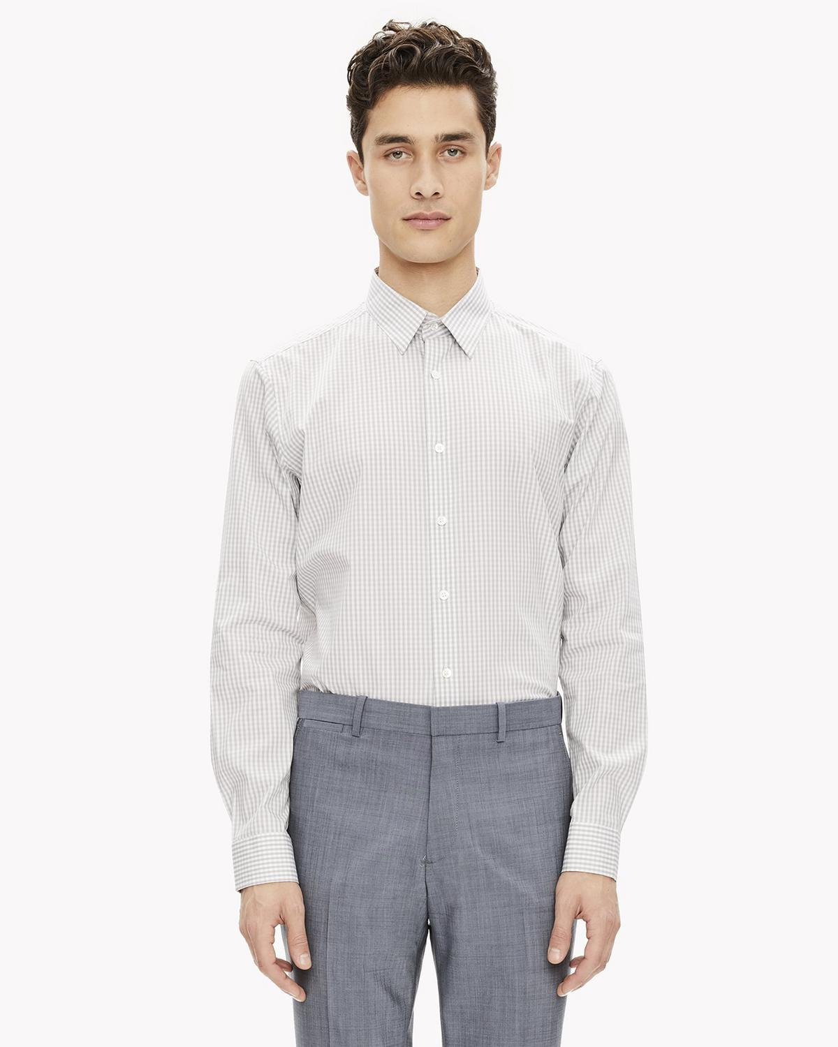 Gingham Slim Shirt