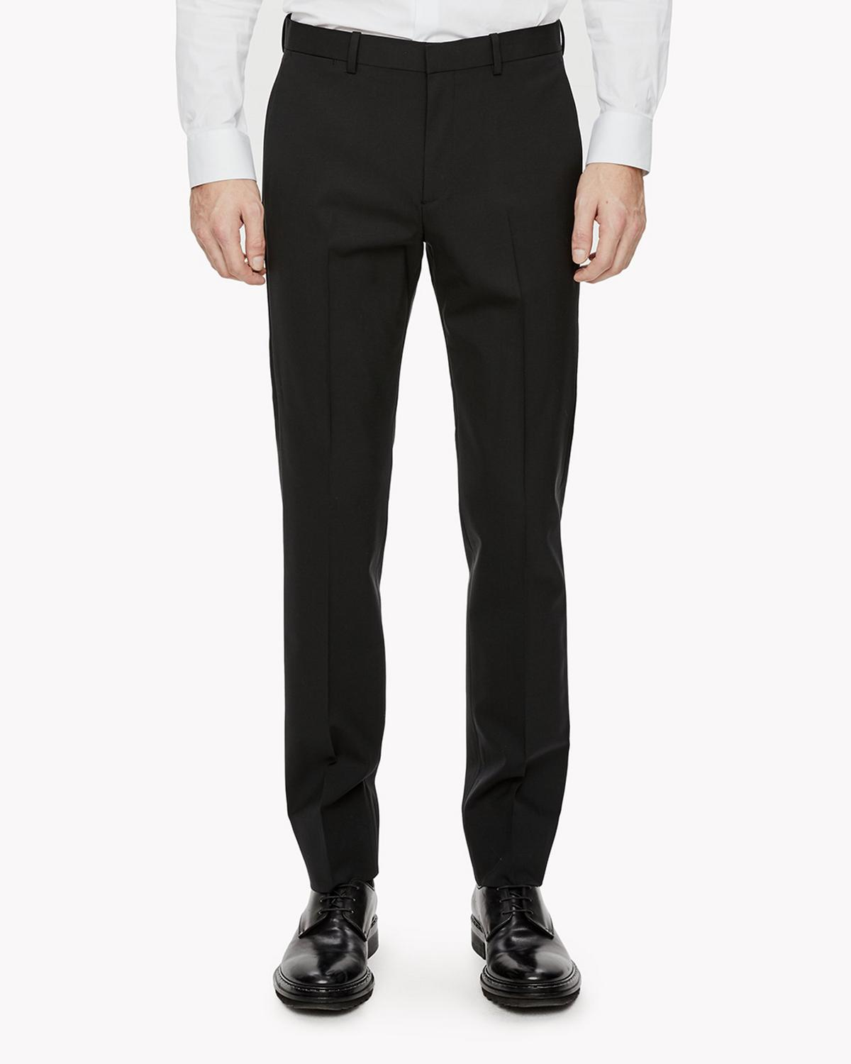Stretch Wool Slim Pant