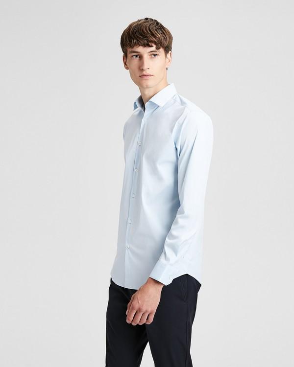 띠어리 맨 스트레치 코튼 슬림핏 드레스 셔츠 Theory Stretch Cotton Slim-Fit Dress Shirt,POLES