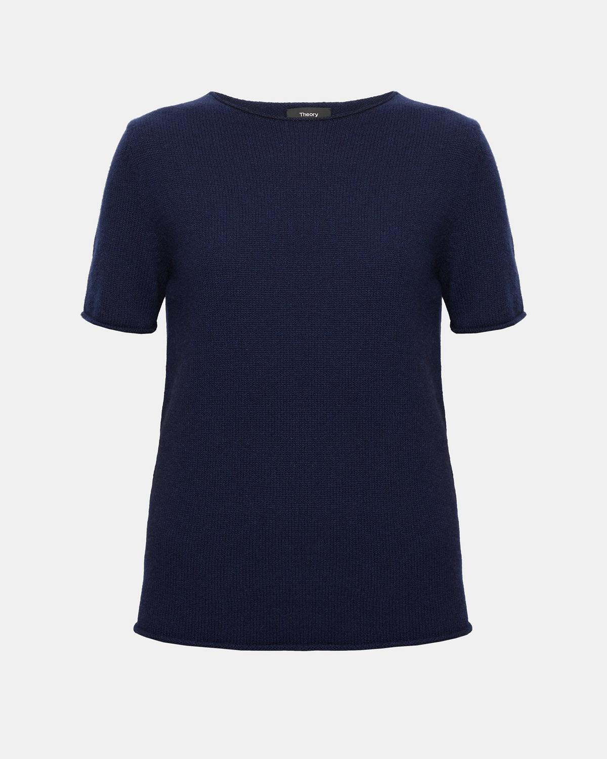 Rolled Cashmere Tee