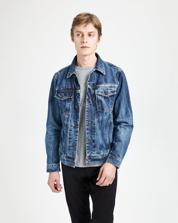 띠어리 Theory J Brand Noah Denim Jacket,STERGO