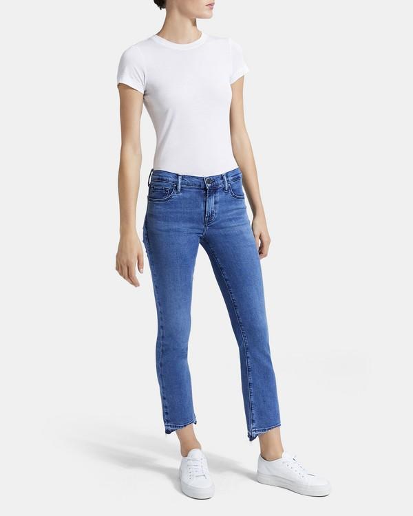 띠어리 Theory J Brand Maria High-Rise Skinny Jean,NEBULA
