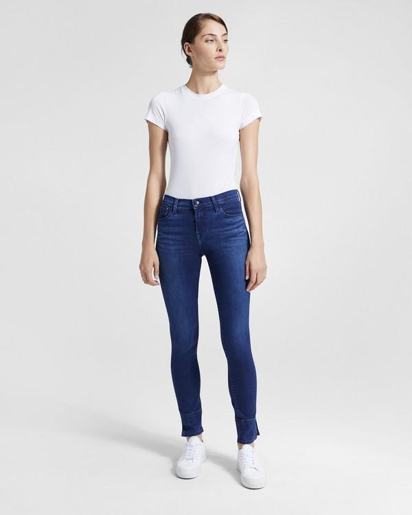 띠어리 Theory J Brand Selena Mid-Rise Crop Jean,EARTHY