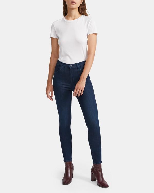 띠어리 Theory J Brand Alana High-Rise Cropped Skinny Jean,CHROMA