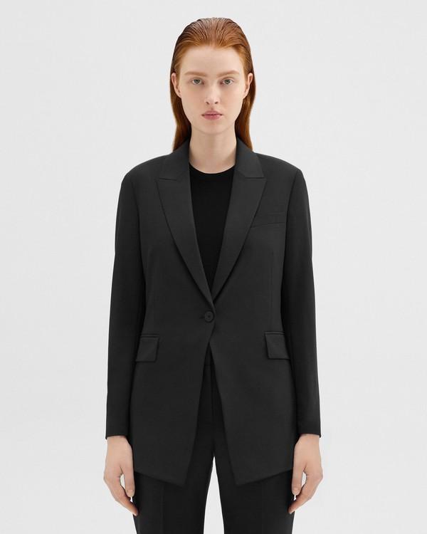 띠어리 굿 울 롱 블레이저 - 5 컬러 Theory Good Wool Long Blazer