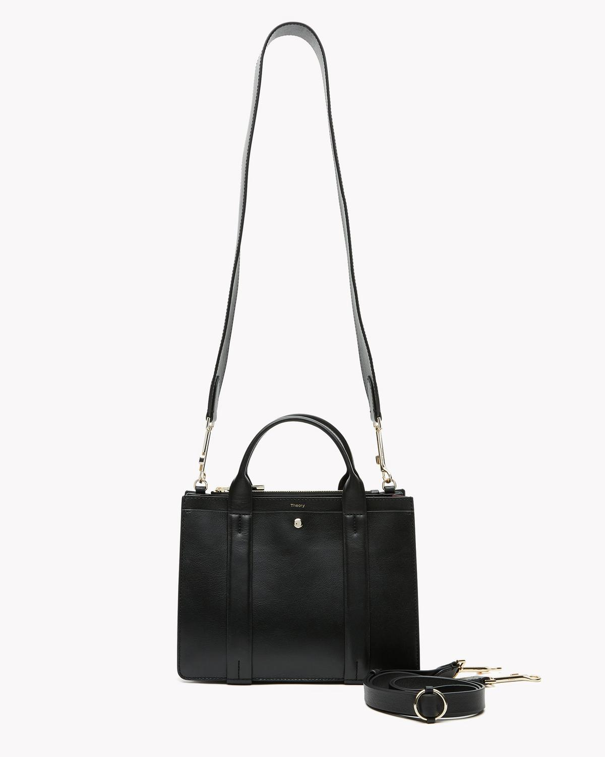 West Mini Satchel Bag in Leather